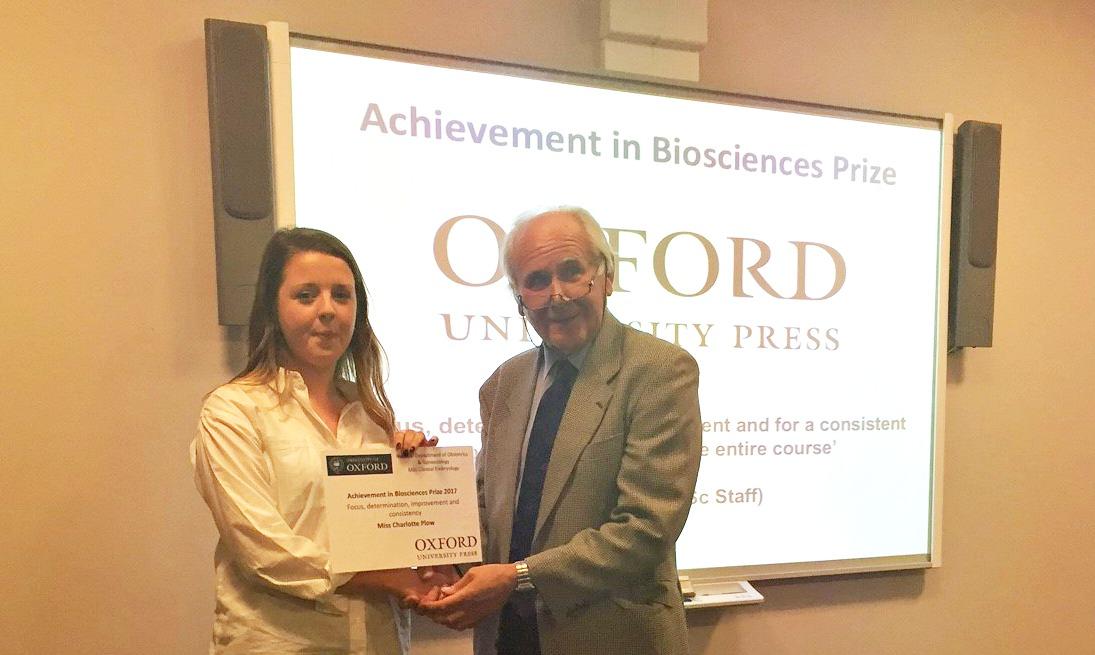 Miss Charlotte Plow BioScience